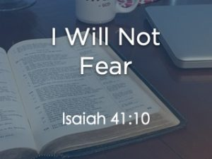I Will Not Fear