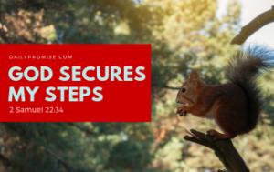 God Secures My Steps