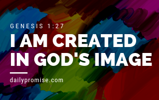 I Am Created in God's Image