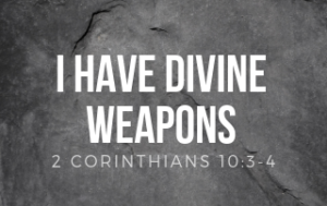 I Have Divine Weapons