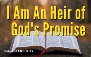 I Am an Heir of God's Promise