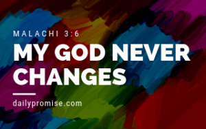 My God Never Changes