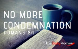 No Condemnation - Romans 8:1