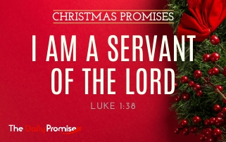 I Am A Servant of the Lord - Luke 1:38