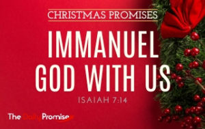 Immanuel - God With Us - Isaiah 7:14
