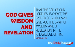 God Gives Wisdom and Revelation - Ephesians 1:17