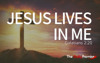 Jesus Lives in Me - Galatians 2:20