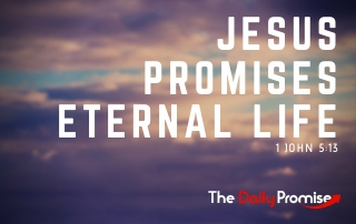Jesus Promises Eternal Life - 1 John 5:13
