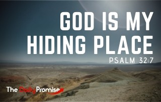 God is My Hiding Place - Psalm 32:7