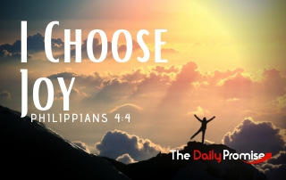 I Choose Joy - Philippians 4:4