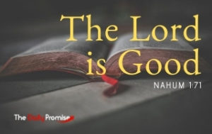 The Lord is Good - Nahum 1:7
