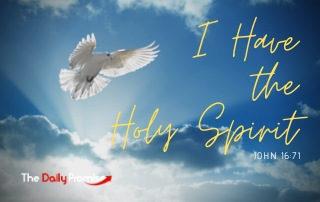 I Have the Holy Spirit - John 17:6