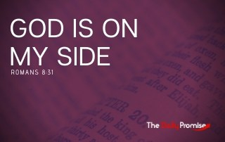 God is on My Side - Romans 8:31