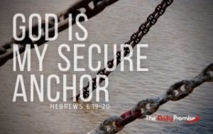 God is My Secure Anchor - Hebrews 6:19