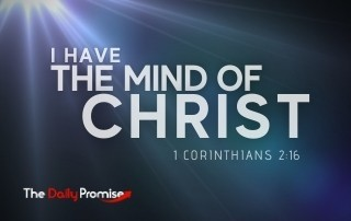 I Have the Mind of Christ - 1 Corinthians 2:16