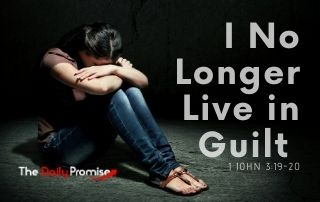 I No Longer Live in Guilt - 1 John 3:19-20