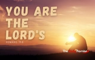 You Are the Lord's - Romans 14:8