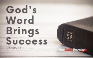 God's Word Brings Success - Joshua 1:8