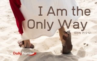 I Am the Only Way - John 5:5-6