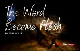 The Word Became Flesh - 1:23Matthew