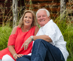 Billy and Tammy Taylor sitting