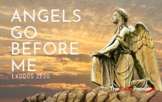 Angels Go Before Me - Exodus 37:23