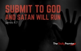 Submit to God, and Satan Will Run - James 4:7