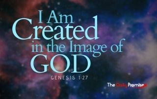 I Am Created in the Image of God - Genesis 1:27