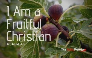 I Am a Fruitful Christian - Psalm 1:3
