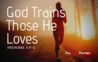 God Trains Those He Loves - Proverbs 3:11-12