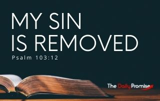 My Sin is Removed - Psalm 103:12