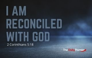 I Am Reconciled with God - 2 Corinthians 5:18