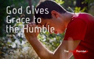 God Gives Grace to the Humble - James 4:6