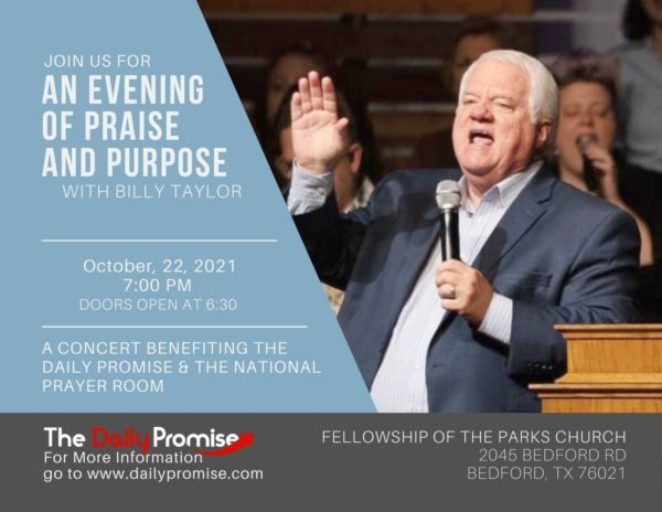 Join us for a Night of Praise and Purpose